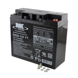Batteri til TGA Powerpack Duo/Solo & HD
